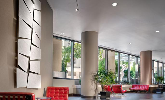 Parc 55 San Francisco - a Hilton Hotel, USA - Lobby seating area