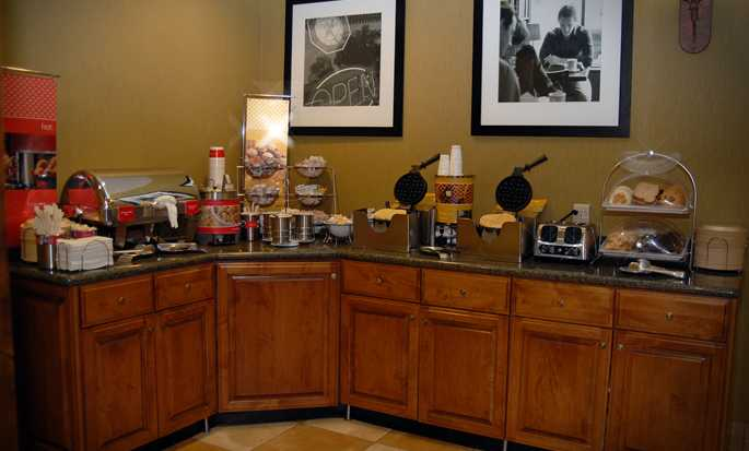 Hampton Inn & Suites Park City, Utah - Breakfast area